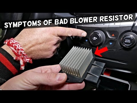Symptoms Of A Bad Blower Fan Motor Resistor Youtube