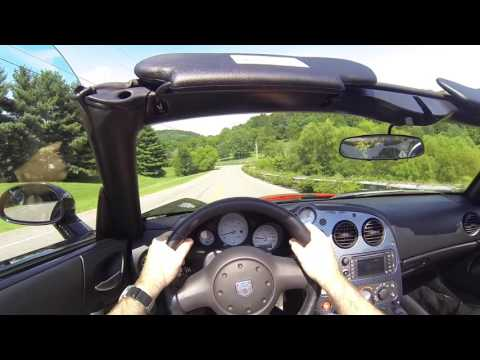 2010 Dodge Viper SRT10 POV Test Drive