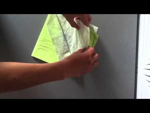 Comment faire un range couvert - décoration de table