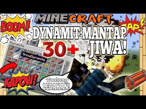 WOW! 30+ DYNAMIT YANG HARUS KAMU LEDAKAN! - Minecraft Experiment #18