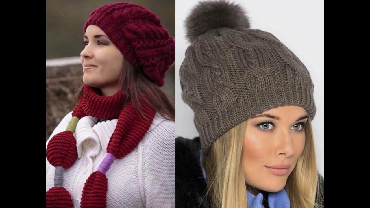 вязаные шапки 2017 нежные шапки зефирки из меррисона шапки