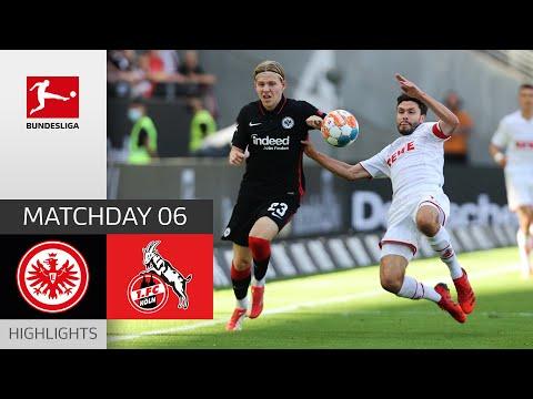 Eintracht  Frankfurt Köln Goals And Highlights
