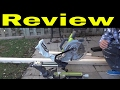 Ryobi 10 Inch Sliding Miter Saw Review