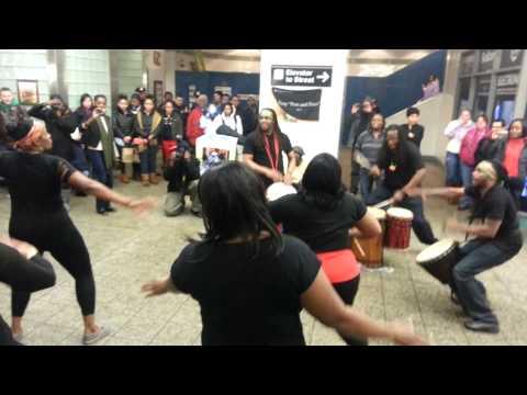 African Dance Flash Mob