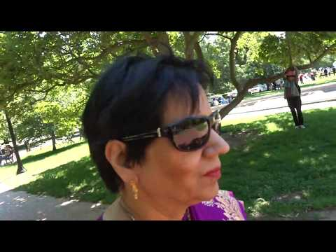 Aruna & Hari Sharma at White House Pershing Park, Washington DC, May 16, 2017