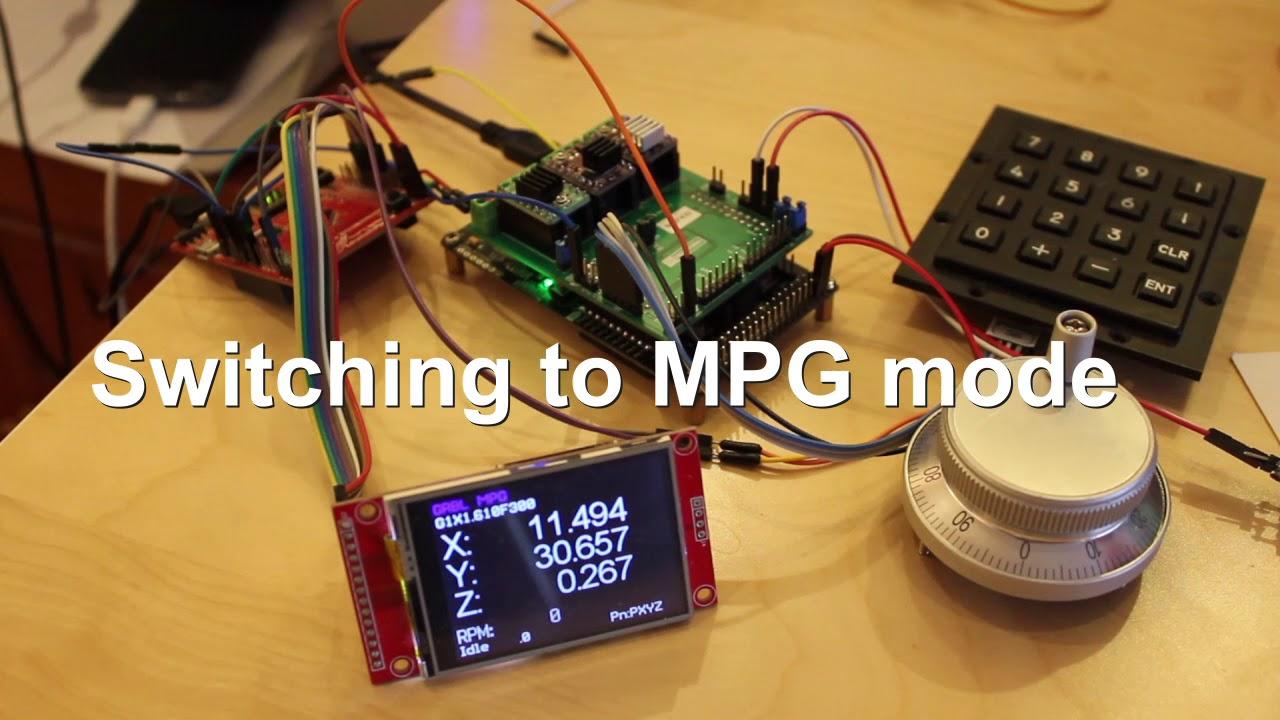 GRBL MPG & DRO - work in (good) progress