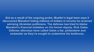 Former Trump campaign chairman Paul Manafort's trial in Alexandria