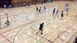 H29 ハンドボール春季二部リーグ 駿河台 vs 関東学院(3/5)
