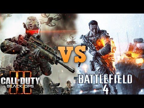 Call of Duty Black Ops 3 VS BATTLEFIELD 4 Graphics Comparison in 4K