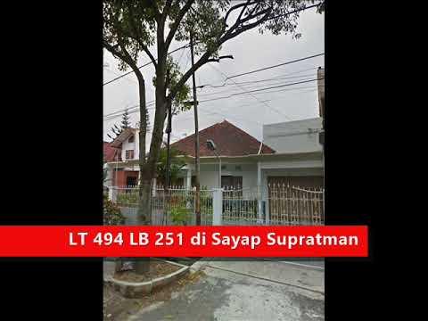 Jual Rumah Sayap Supratman Bandung Tengah – LT 494 LB 251 - Jual Rumah Bandung .NET