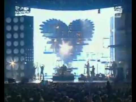 DEPECHE MODE   NEVER LET ME DOWN AGAIN   LIVE IN 2001 awards GERMANY D   M the BEST SOUND   GROUP