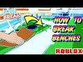 HOW TO BREAK THE BENCH SEATS ON JAILBREAK (Roblox) - Bench and Tazer Glitch