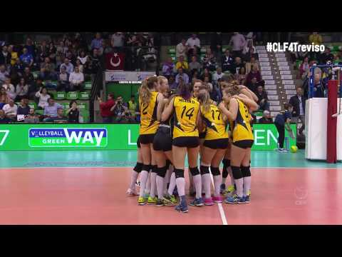 #CLF4Treviso: Semi-final match point taken for VakifBank