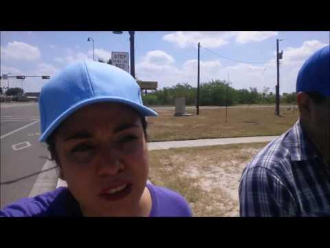 Reto de ir caminando a las tiendas de hidalgo Texas fallas y Dollar tree (parte 1  )