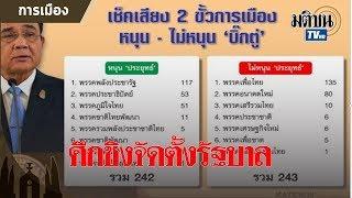 เพื่อไทย อันดับ 1 ได้ส.ส. 137 ที่นั่ง ประกาศจัดตั้งรัฐบาล เดินหน้าดึงพรรคร่วม : Matichon TV