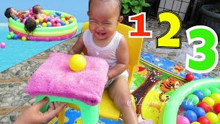Bathing Ball Playground Play Play while Learning Color for child