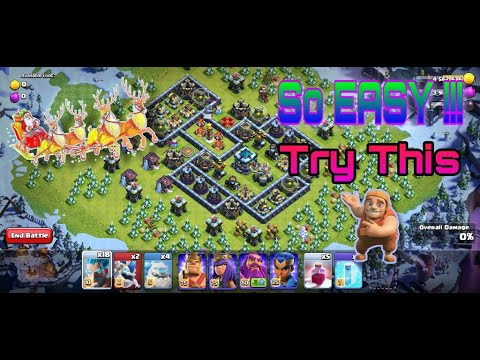 Epic winter challenge is here !!! Try this method to get an easy win | clashing hub