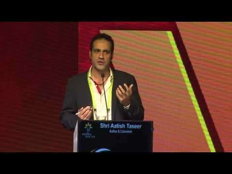 aatish-taseer-at-india-ideas-conclave-2016