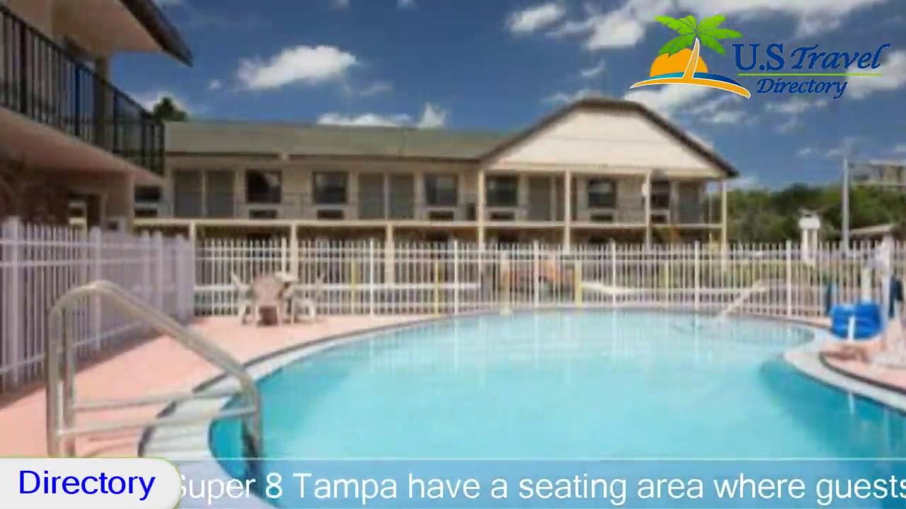 Super 8 Tampa U.S.F. Near Busch Gardens Downtown   Tampa Hotels, Florida
