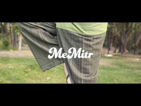Thai Fisherman Pants Men's Yoga Trousers  2 Tone Pant By Memitr