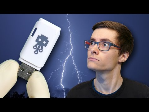 Je DÉTRUIS un PC avec une CLÉ USB ! (Test USB Killer)