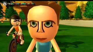 Wii Sports Resort - Cycling Road Race - Around The Island 3 - Happy Kids Games And Tv