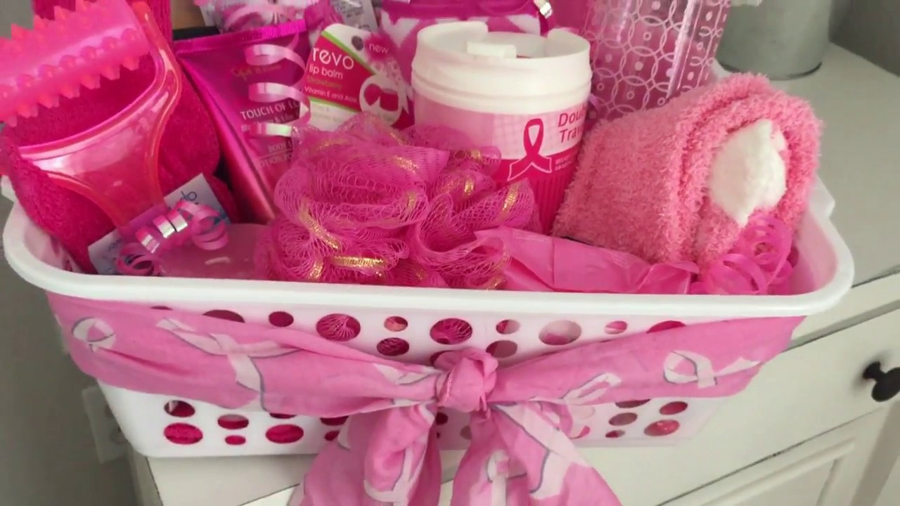 breast cancer gifts dollar tree gift basket breast cancer 12314