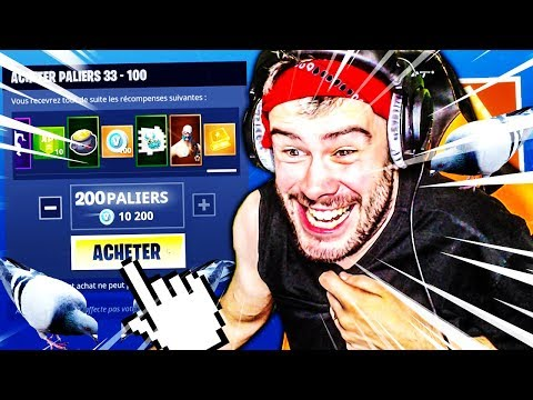 JACHETE ENTIEREMENT LE PASS DE COMBAT DE LA SAISON 5 SUR FORTNITE BATTLE ROYALE !!!