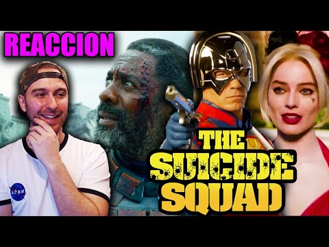 Video Reacción: THE SUICIDE SQUAD 2 (Sneak Peek) Oficial Teaser 2021   ¡Divertida y Sorprendente!
