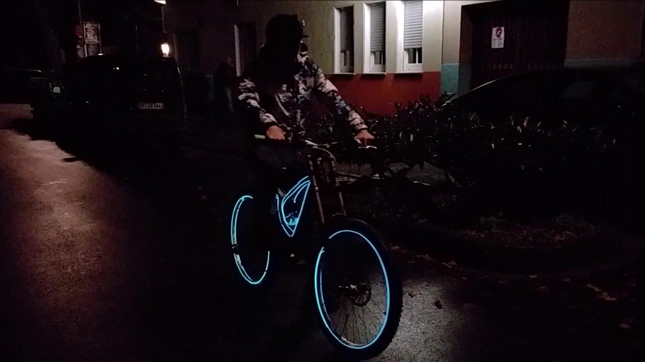 Tron Licht tunning für mtb downhill fahrrad bmx e bike dirtbike ...