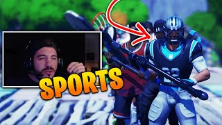 *SPORTS* Fortnite Fashion Show! FIRE Skin Competition! Best DRIP & COMBO WINS!