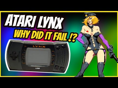 Did The ATARI LYNX FAIL!? – RARE CONSOLE GAMING HISTORY