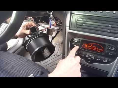 Peugeot 307 Wyjęty Wentylator Youtube