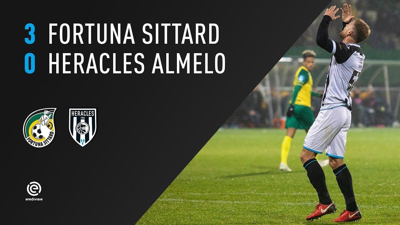 Fortuna Sittard - Heracles Almelo | 24-11-2018 | Samenvatting