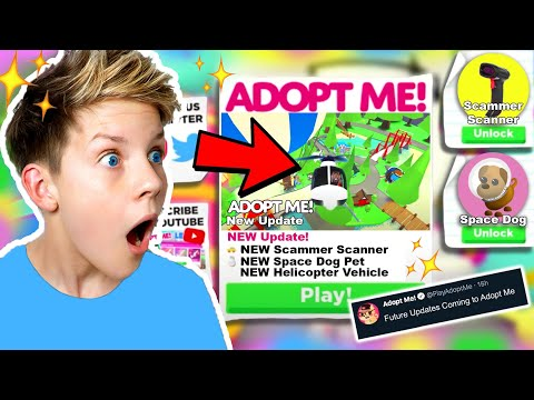 *LEAKED* Adopt Me *FUTURE* Update NEW PETS And ITEMS In Roblox Adopt Me!