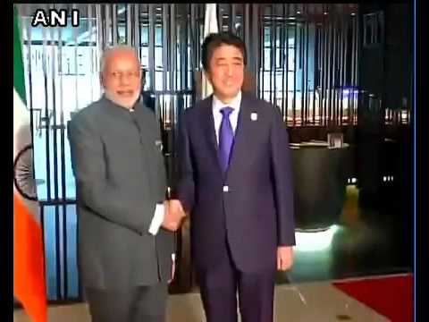 Prime Minister Modi at ASEAN Summit with Japan PM