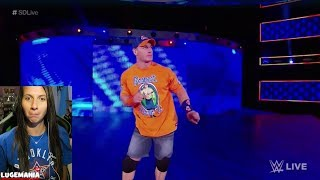 WWE Smackdown John Cena dancing to 'Cena Sucks' Chants!