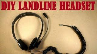 #E-CYCLE: DIY Landline Headset
