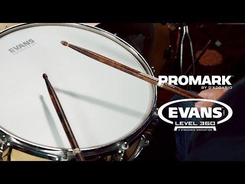 Review | PELE EVANS UV1 e BAQUETAS PROMARK FIREGRAIN