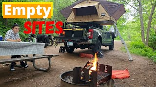 First Come First Seŗve Camping in Bayfield Wisconsin
