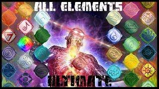 ROBLOX- Champs de bataille élémentaires: Tous les éléments Ultimate Showcase - Explication (3/3)