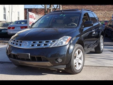 2005 nissan murano sl awd all wheel drive youtube. Black Bedroom Furniture Sets. Home Design Ideas