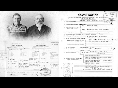 South African Genealogy: Locating Pre-1950 Estate Files Online