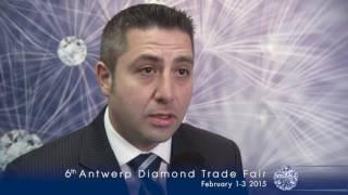 Antwerp Diamond Trade Fair 2014 INTERVIEW Francisco Manrique