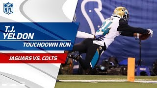 T.J. Yeldon's 58-Yd Diving TD Caps Off Huge Drive vs. Indy! | Jags vs. Colts | NFL Wk 7 Highlights
