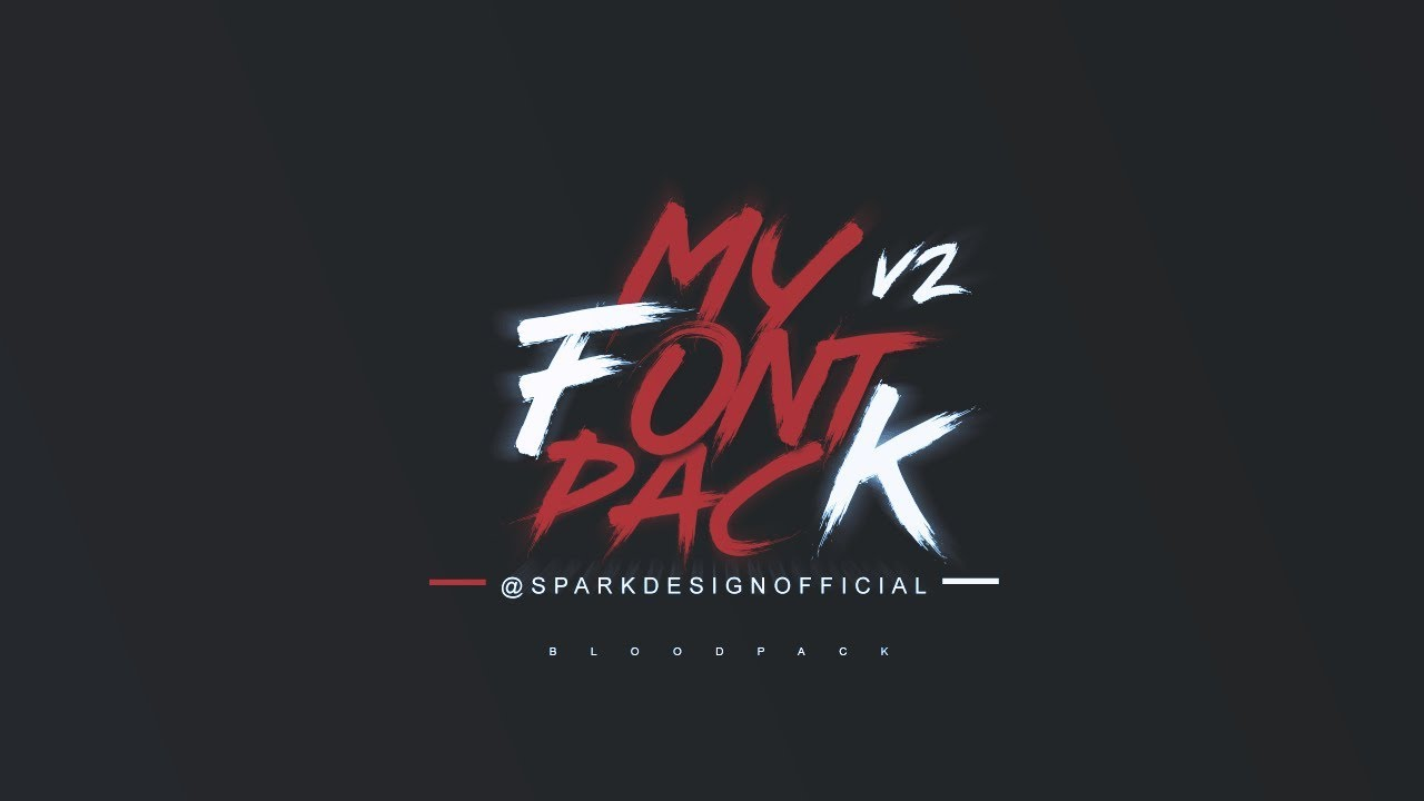 Download Free Download | Font Pack V2 | Photoshop project ...