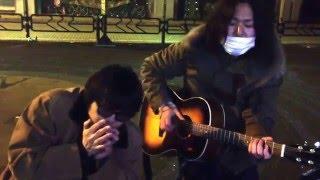 2015年12月28日午前2時‼   極寒の東京都江戸川区小岩路上で河田健太とシ...