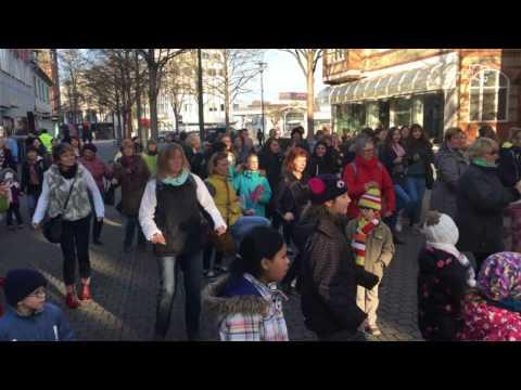One Billion Rising 2017 - Wetzlar