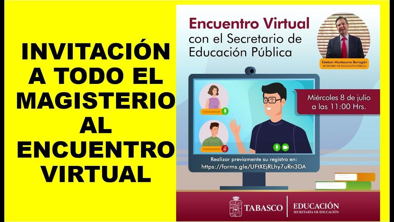 Soy Docente: INVITACIÓN A TODO EL MAGISTERIO AL ENCUENTRO VIRTUAL