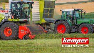 Kemper Pickup C3003 MAXIMUM für Claas Feldhäcksler – Holen Sie das MAXIMUM aus Ihrem Feldhäcksler!